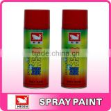 High Quality fast-drying Fluorescent car aerosol spray paint
