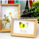 High Quality Wooden Shadow Box Frame Wholesale MDF Picture Photo Frame