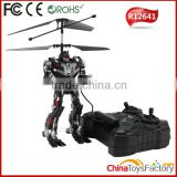 R12641 2.5CH Battle Robot RC Helicopter Flying Robot