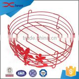 Hot selling OEM service fancy home decorative metal wire storage basket                                                                                                         Supplier's Choice