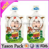 YASON 100ml fruit juice bags with spout klimax herbal incense spice bags/potpourri/ ice bag
