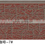 decorative insulated exterior wall siding panel/pu sandwich panel/aluminum foam wall panel/facade panel/wall cladding panel