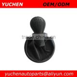 YUCHEN Car Shift Gear Knob With Black Caps For Skoda Fabia II MKII 2007-2012 OEM 5J0711113C/ 5JD711113E