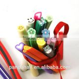 Awesome DIY Polymer Clay Nail Art Tube Beads(CLAY-S080)