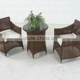 2014 New outdoor weave furniture dining set ,coffee set