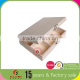 Wholesale custom unfinished high quality balsa wood boxes