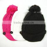100% cotton knitted children's hats