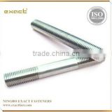 zinc white zinc blue yellow zinc hot dip galvanized threaded bar