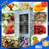 Commercial vegetables dehydrator industrial food rotary dryer 304 stainless steel