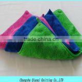 20% Polyamide 80%Polyester Microfiber Coral Fleece Cleaning Cloth for Car wash Home Cleaning