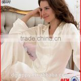 High quality smooth ladies pajamas fashion real silk pajamas / funny woman pajamas                                                                         Quality Choice