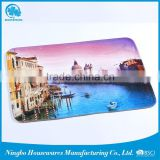 China wholesale color change non-slip memory bath mat