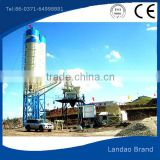 Mobile Concrete Mixing Plant Price /Hot sale 35m3/h mobile concrete batching plant price