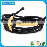 Fashion Accessories Mens Anchor Bracelet Rope