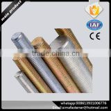 DIN975/ASTM A193 B7 steel threaded rods - Own factory and manufacturer