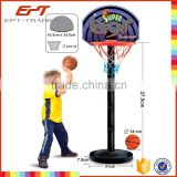 Plastic promotional balls toy basketball mini basketball hoop for sale
