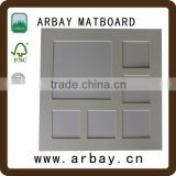 wholesale high grde acid free mounting board/holy nature photos/acrylic staff photo boards