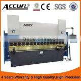 CNC Press Brake 100 tons 2500mm long with CNC crowning and 4 axis Delam DA66T CNC controller