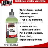 AEROPAK Tyre Puncture Repair Kit, Liquid Tire Sealant with compressor Inflator, mergency Tire pump