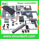 laptop keyboards/dc adapter/ LCD hinge/ABCDEH shell/CPU fan/DC jacks/battery laptop replacement parts