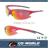 Taiwan manufacturers of sports glasses, half-frame cover type of frame, comfortable nose pads and temple tips