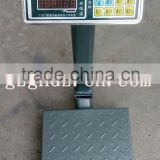 lightweight digital weight scale with high quality load cell /150kg stainless steel platform scale