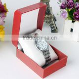 Chinese factories wholesale custom high-grade plastic watch box, red fashion beautiful gift box