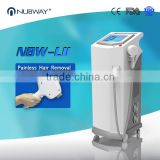 Newest 4 million shots warranty 10 layer laser bars strong power 808nm hair removal diode laser system 3 years warranty
