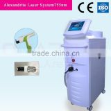your own brand make up alexandrite laser hair removal machine with OEM designed languages