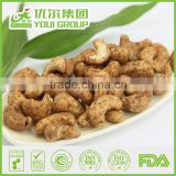 Snack Food International Selling Price of Black Pepper Favlor Cashew Nuts