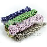 colored clothes line rope