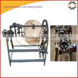 Neweek power saving manual sea grass cord making machine