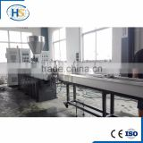 High Filling EVA Hot Melt Adhesive Extruder For Masterbatch Compounding Two Stage Extruder Machine