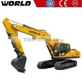 ISUZU engine 21ton 0.9m3 Bucket mini rc hydraulic excavator for sale