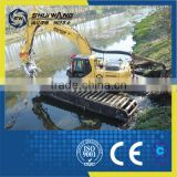 Reliable Quality Sand Suction Pontoon Boat with Cast Iron Sand Pump for sale