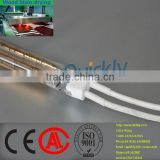 tungsten halogen lamp with golden reflector,infrared heating element for timber processing