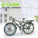 Creative Bicycle Shape Clock, Popular Home Decorative Desk European Style Digital Clock For Wholesale