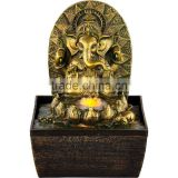 Indoor Tabletop Ganesha Buddhism water fountain