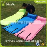 OUTDOOR PICNIC CAMPING WATER REPELLENT HIKING PVC AIR MATTRESS SELF INFLATING UNFOLDING CAMPING MAT