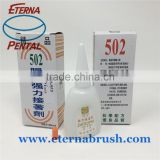Inquiry about super 502 glue for shoes