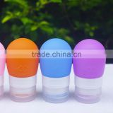 Leak-proof Lotion Container Mini Silicone Travel Botle BPA Free Soft Squeeze Tubes For Cosmetics
