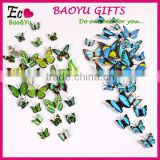 3D Butterfly Multicolor Butterflies Wall Quote Stickers Shopping Window Home Wall Decoration Fridge Magnet