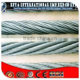Construction Application and AISI,ASTM,BS,DIN,GB,JIS Standard 8x19 elevator steel wire rope