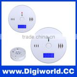 Safety CO Carbon Monoxide Poisoning Motion Sensor Smoke Alarm