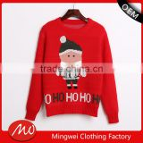 popular items custom ugly christmas mens jumpers crew neck wholesale sweatshirt with cotton fabric