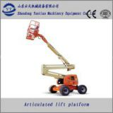Trailer Mounted Boom Lift for equipment maintenance