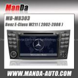 Manda 2 din car video for Benz W211 ( 2002 2003 2004 2005 2006 2007 2008) car dvd gps automobiles