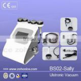 BS02 Portable 5 in 1 RF+vacuum 40k cavitation slimming machine