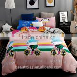 China textile luxury bedroom set 110gsm king queen double single size 100% polyester microfiber wholesale bed sheets BS292