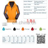 Hot sales New Custom Sporty Hiking Technical Jacket without head with different color
